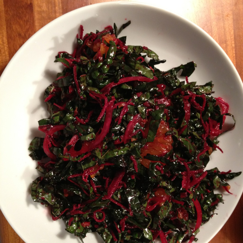 Colorful Kale and Beet Salad :: Big Picture Long Life ...